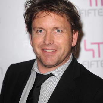 James Martin revealed that he is a fan of Northern Ireland's golf courses and Irish whiskey