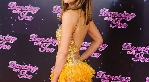 Samia Ghadie has been voted off Dancing on Ice