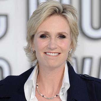 Jane Lynch plays Sue Sylvester in Glee