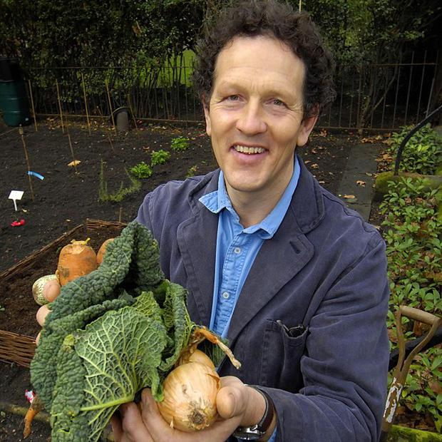 Monty Don presents Gardeners' World from his own garden