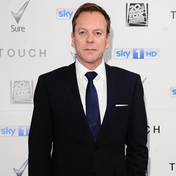 Kiefer Sutherland said his Touch character resembles his 24 alter-ego