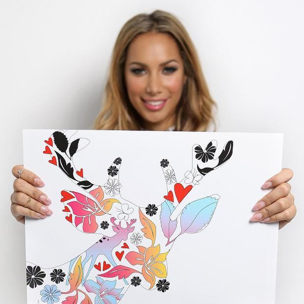 Leona Lewis has teamed up with The Body Shop