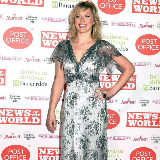 Kelly Adams ditched the high heels and make-up for Bluestone 42