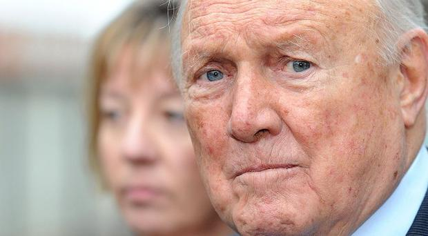 Stuart Hall has been charged with historic sex offences