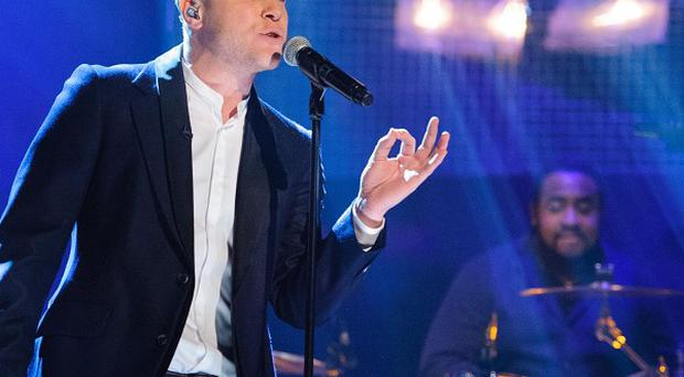 Olly Murs performed on the Graham Norton Show where he met crush Mila Kunis