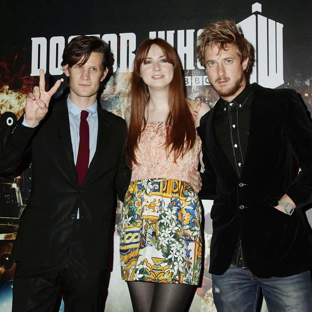 Arthur Darvill starred with Matt Smith and Karen Gillan in Doctor Who