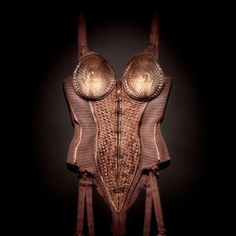 Madonna's corset from her Blond Ambition Tour 1990 by Jean Paul Gaultier