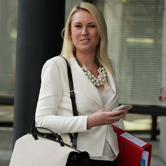 Stella English is suing Lord Sugar for constructive dismissal