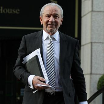 Lord Sugar has accused Stella English of lying