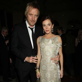 Anna Friel and Rhys Ifans have been dating for two years