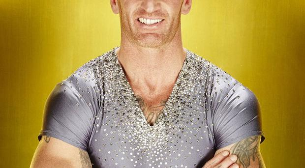 Gareth Thomas had to withdraw from the Dancing On Ice semi-finals