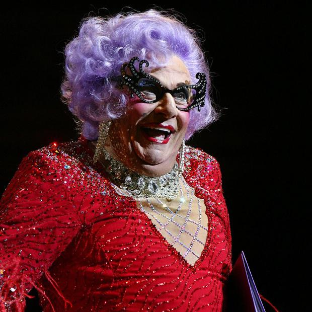Dame Edna Everage joined the MasterChef judges