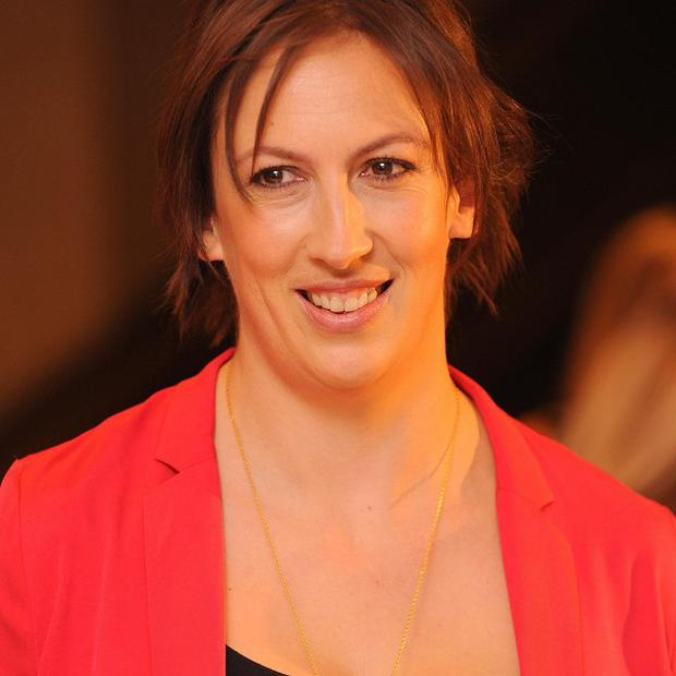 Miranda Hart started her Comic Relief challenge with an ankle injury