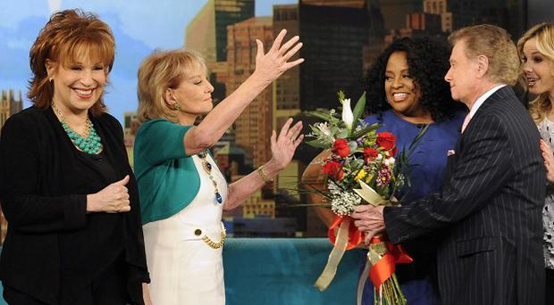 Barbara Walters said Elisabeth Hasselbeck is not leaving The View