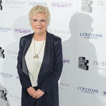 Julie Walters was recognised for her work on stage and screen