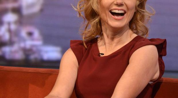 Spice Girl Geri Halliwell has been tweeting tips on how to use the London Underground