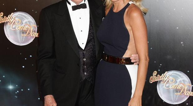 Sir Bruce Forsyth and Tess Daly present hit BBC ballroom show Strictly Come Dancing