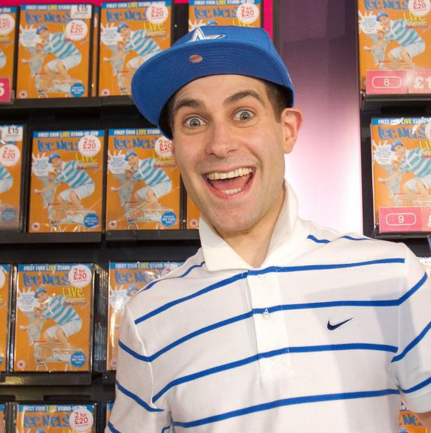 Simon Brodkin plays comedy character Lee Nelson