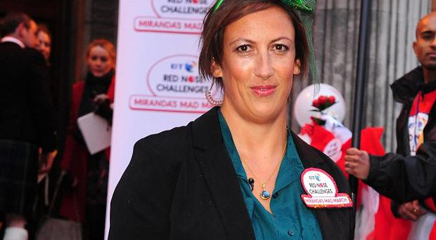 Miranda Hart takes inspiration from Eric Morecambe for her sit com