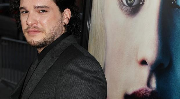 Kit Harington attended the premiere for the third season of Game of Thrones in LA