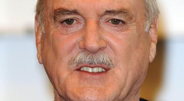 John Cleese starred in BBC hit comedies Fawlty Towers and Monty Python