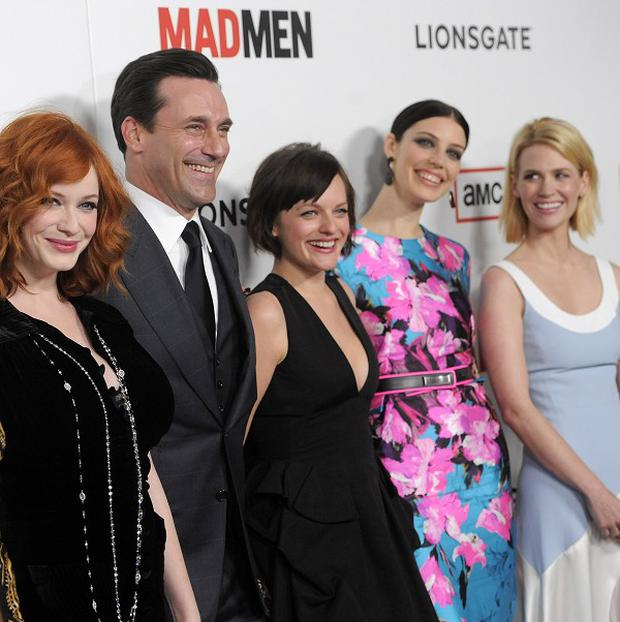 The Mad Men cast couldn't reveal too many secrets from the new series