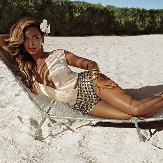 Beyonce has a new clothing range in a high street store