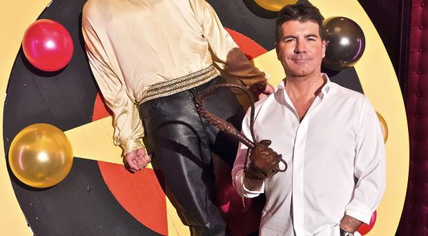Simon Cowell gets David Walliams in spin