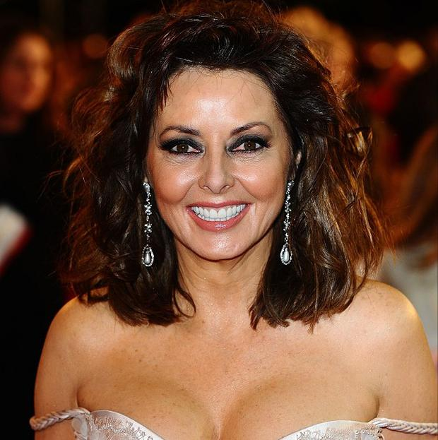 Carol Vorderman is recovering after breaking her nose