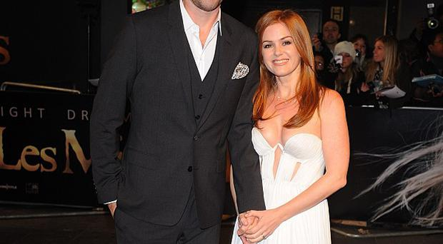Sacha Baron Cohen and Isla Fisher have a far from conventional marriage, says the actress