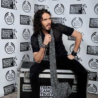 Russell Brand told Alan Carr he would like to be a dad