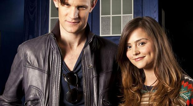 Matt Smith is enjoying working with Jenna-Louise Coleman