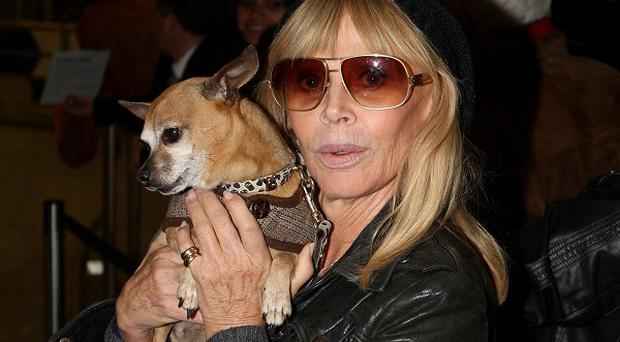 Britt Ekland suffered heartbreak after her split with Rod Stewart