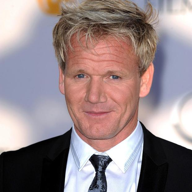 Gordon Ramsay headed up one of the teams in Hotel GB