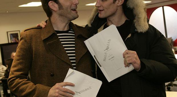 David Tennant and Matt Smith made it a double dose of Doctors