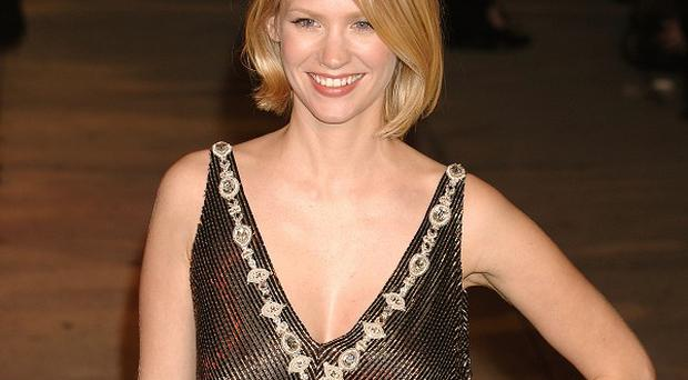 January Jones stars in hit show Mad Men