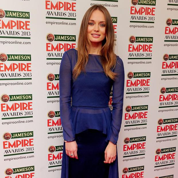 Laura Haddock stars in new TV show Da Vinci's Demons
