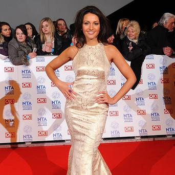 Michelle Keegan was pranked by a pal