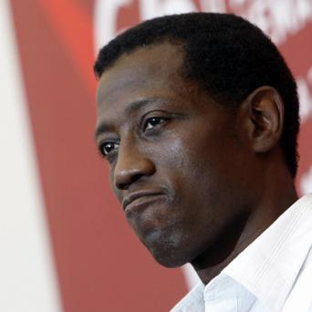Wesley Snipes had challenged the US government's right to collect taxes (AP)