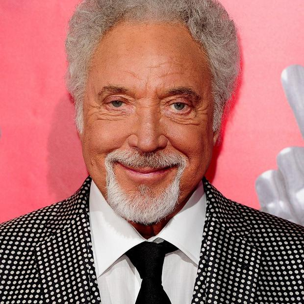 Sir Tom Jones from The Voice