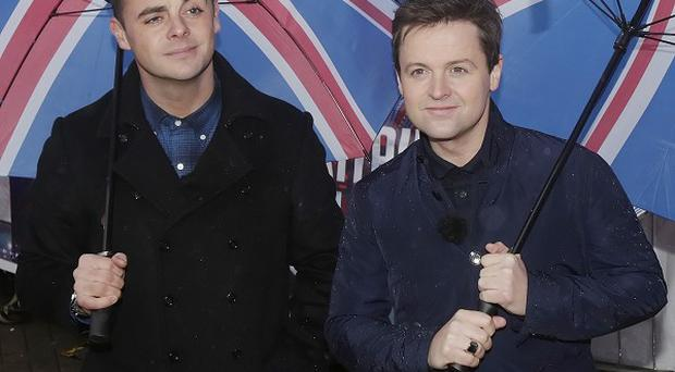 Ant and Dec said there hasn't been much animal magic on BGT so far