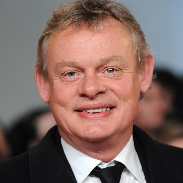 Martin Clunes is back filming a new series of Doc Martin