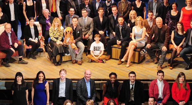 Nominees from the Olivier Awards shortlist have gathered together to celebrate their inclusion