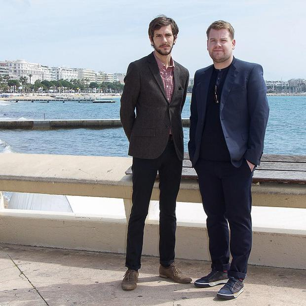 Mathew Baynton and James Corden have been promoting The Wrong Mans in Cannes