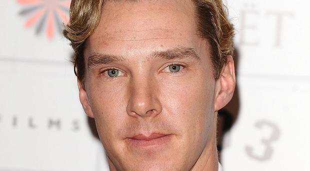 Benedict Cumberbatch was mobbed by fans as he filmed another episode of Sherlock Holmes