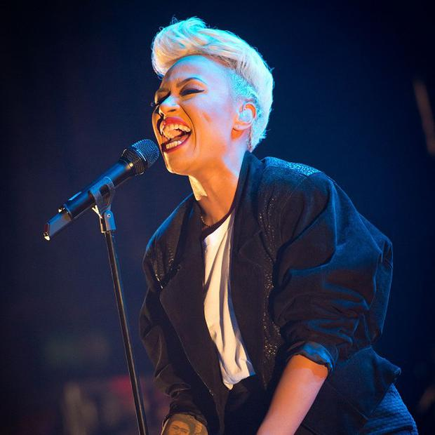 Emeli Sande's album is still at the top of the best-selling chart for 2013