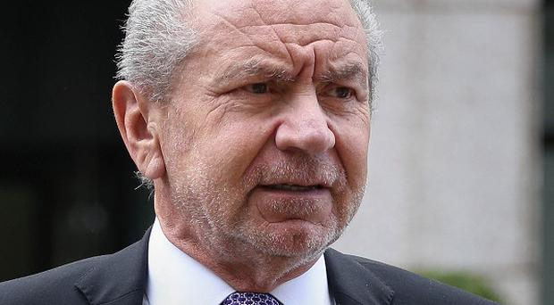 Lord Sugar said a constructive dismissal case brought against him was a 'charade'