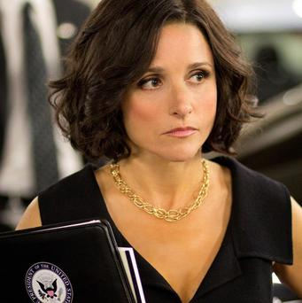 Actress Julia Louis-Dreyfus star of Veep has had lunch in the White House (AP)