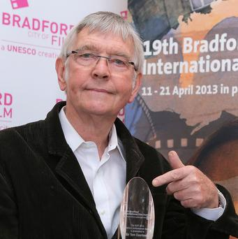 Sir Tom Courtenay has received a lifetime achievement award in the 50th anniversary year of his classic film Billy Liar