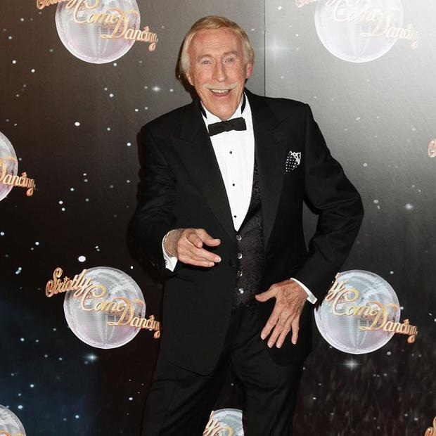 Sir Bruce Forsyth admitted the UK's cold weather is getting him down
